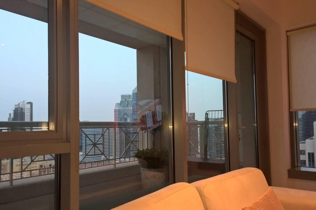 Large balcony & amazing view
