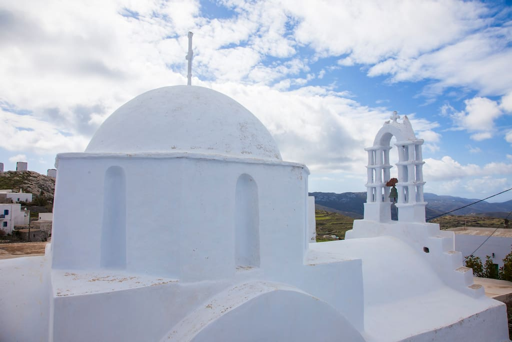 The church besides our house / Εκκλησία δίπλα στο σπίτι μας