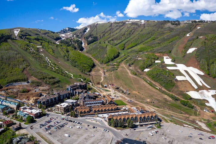 Park City Mountain Resort, Mt bike, ski-in/ski-out