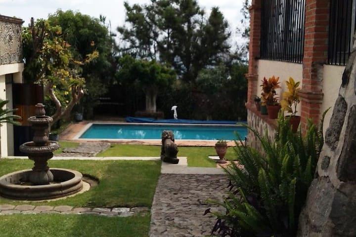 ✨ Casa con Alberca por la Villa Inter. de Tenis