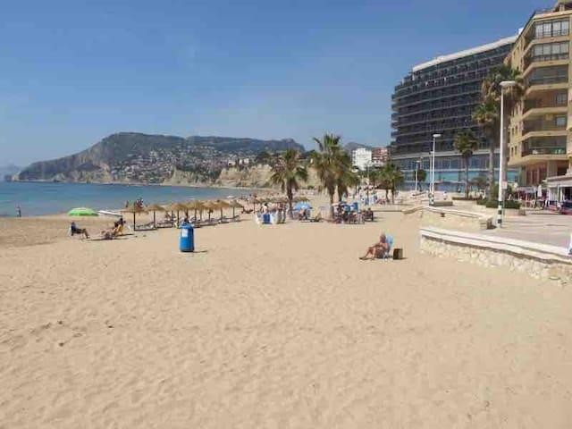 Calpe, playa arenal, zona turística, wifi