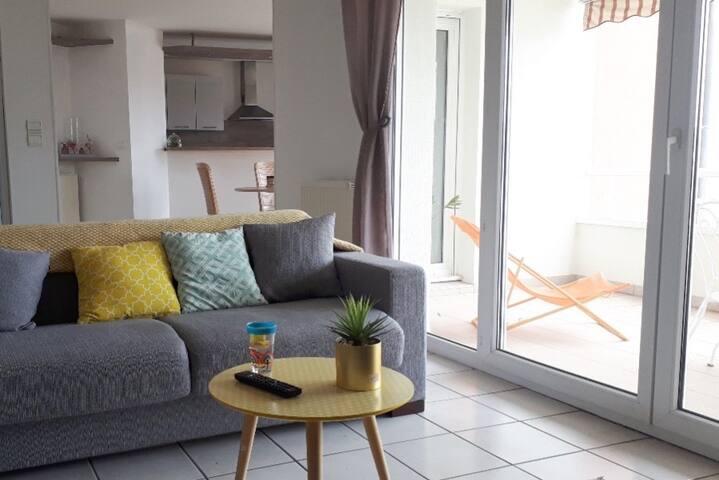 appartement 80m2 quartier des chaprais Besançon