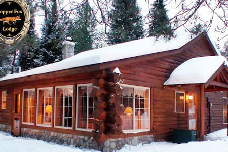 Log Cabin Luxury on the Famed AuSable River