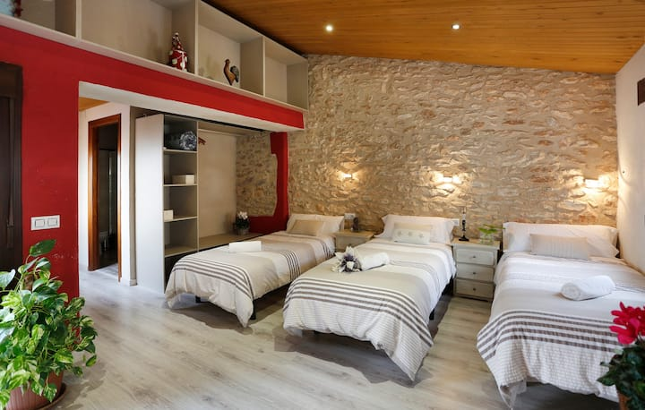 Cal ViBo, village house for 11 Guests