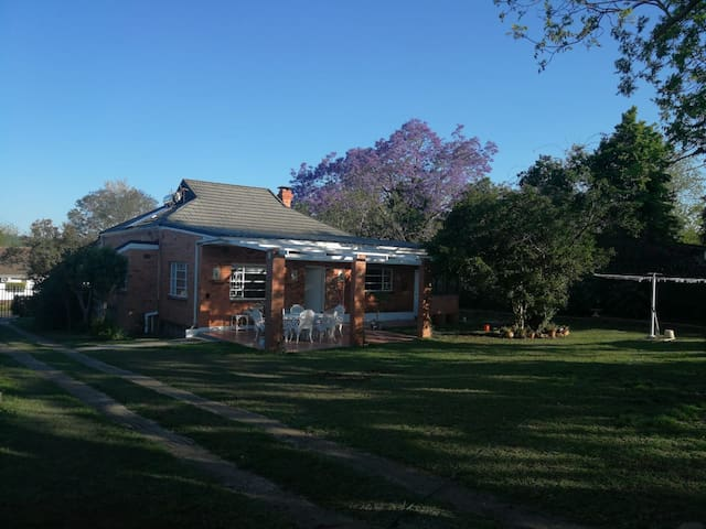 Pecan Nut Guest House, comfort and tranquility.