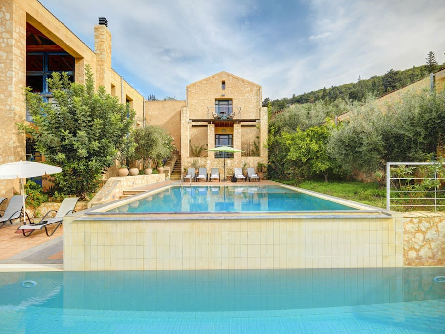 Villa Artemis with 2 private pools