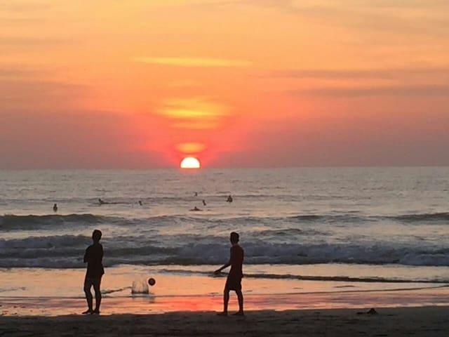 Famous Seminyak sunset