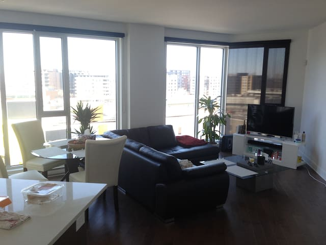 New 2016 condo! 1 bedroom + private bathroom! - Montréal - Wohnung