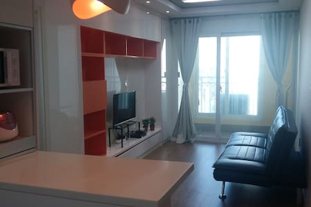 광안리 바다근처 넓고 깨끗한 쓰리룸(방2+거실) - Suyeong-gu - Huoneisto