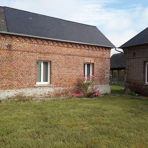 Petite maison entre Dieppe et Neufchâtel en Bray