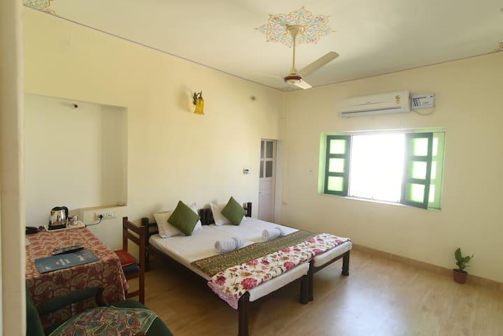 Triple bed AC Room at Sneh Deep Jaipur