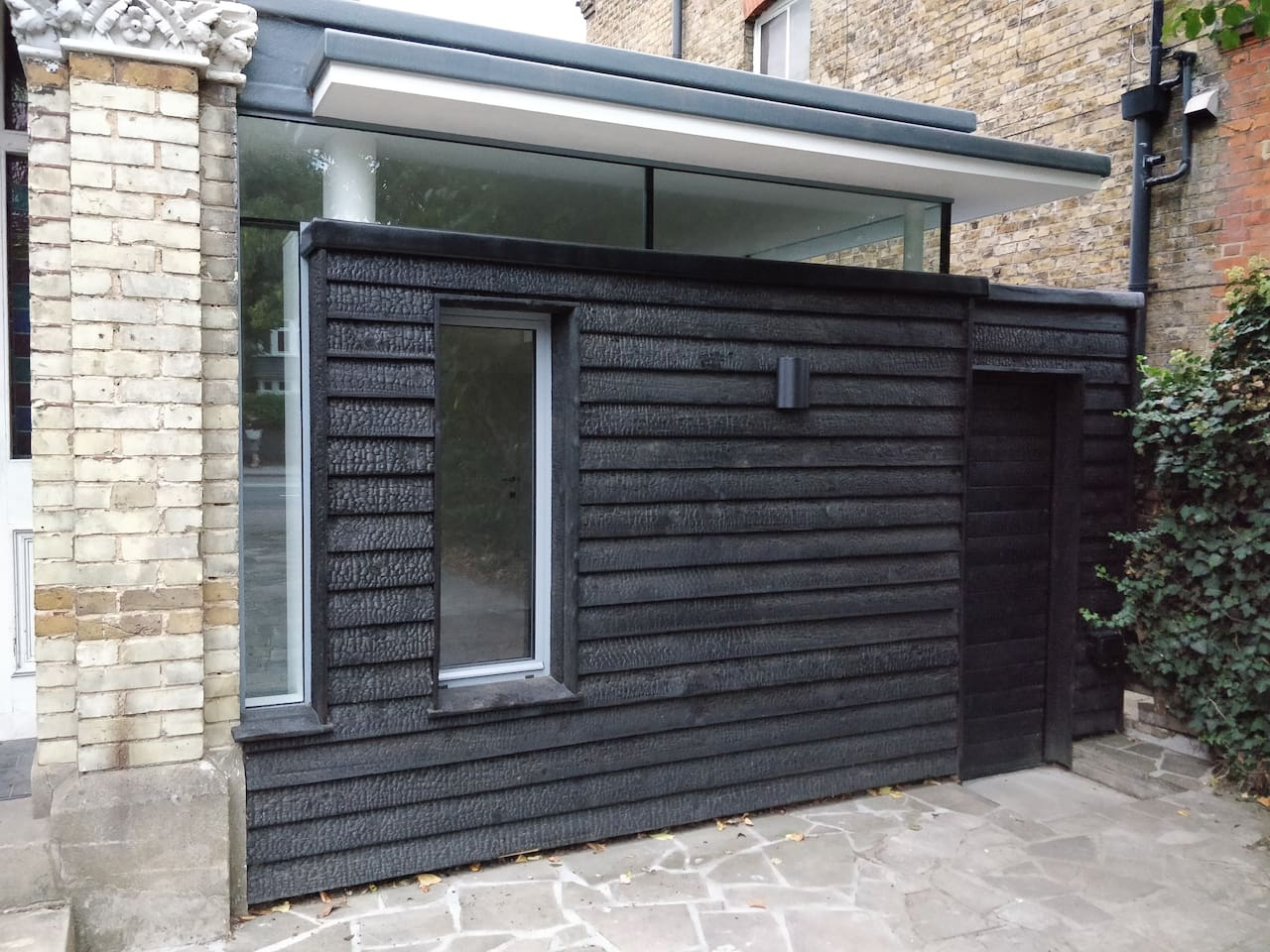 External view of studio and private entrance