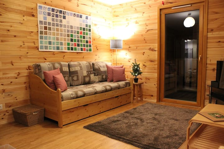 Lovely spacious ski apartment in La Plagne - Mâcot-la-Plagne