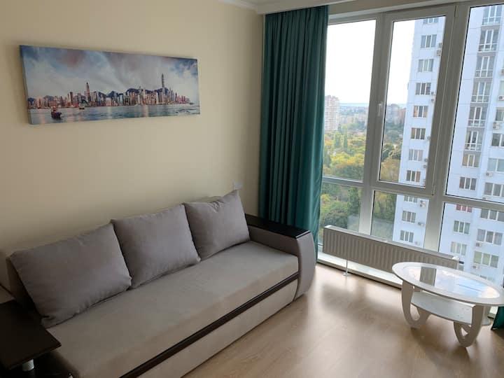 Уютная квартира с панорамой города