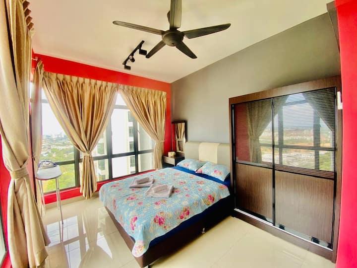 Glex Homes at ARC, Taman Daya【3BR, INFINITY POOL】