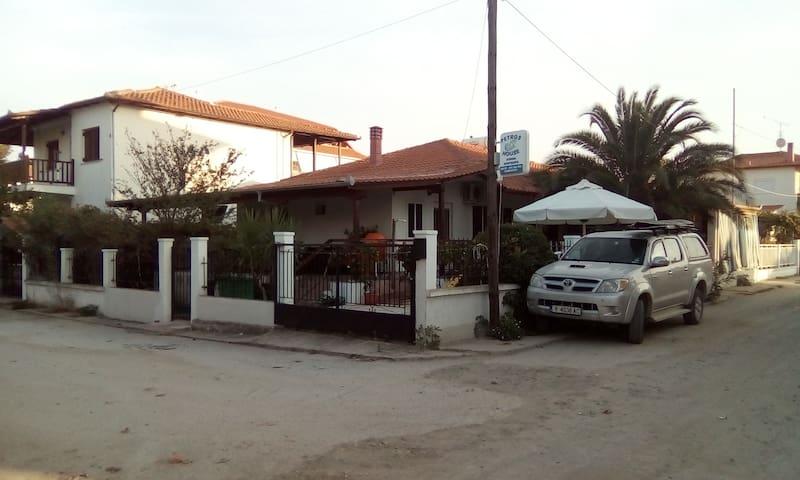 Petros House - Studio Snega - Nea Vrasna - Casa