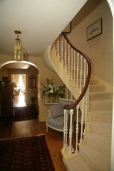 Main Staircase in front hallway