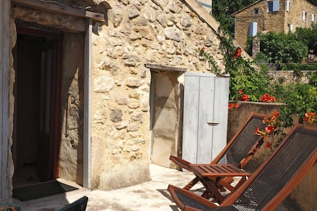 Petite maison authentique - La Roque-sur-Cèze - Dům