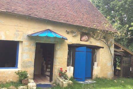 Une Maison bleue dans le Perche - Colonard-Corubert - 独立屋