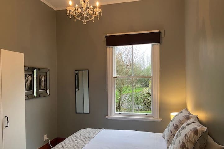 The grey room - is calm with garden views