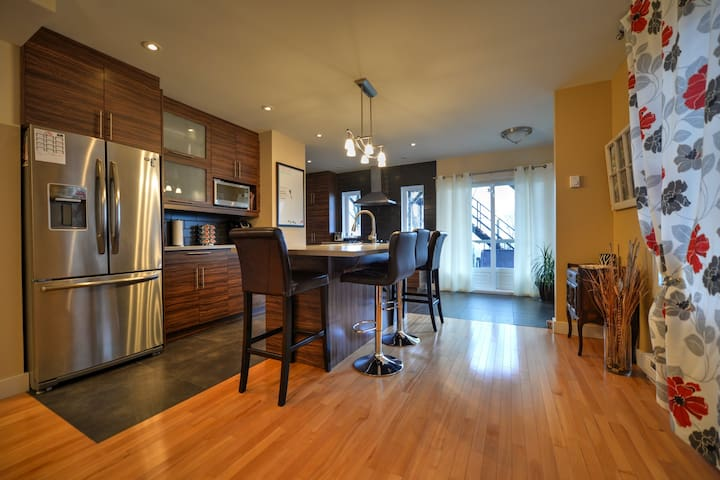 Vue Montreal!!! - Laval - Wohnung