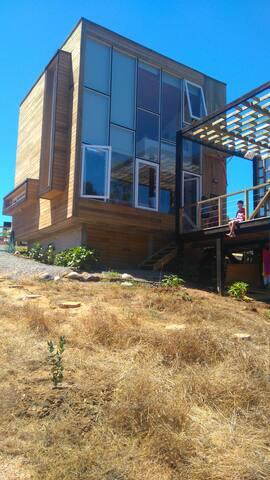 Casa en Punta de Lobos, vista al mar - Pichilemu - Casa