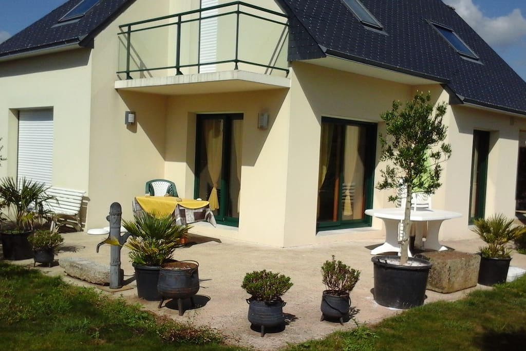 Loue maison de vacances casas en alquiler en combrit bretagne francia - Casas de alquiler en francia ...