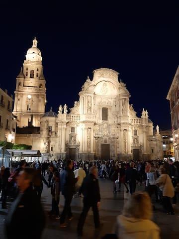 Piso céntrico en la capital Murcia