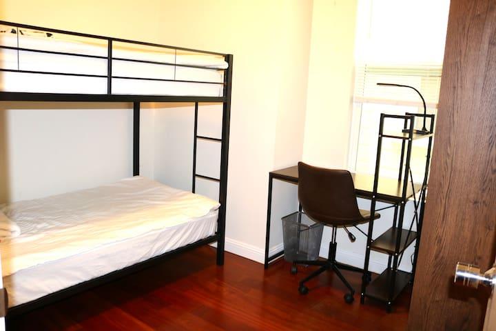 #S15 Shared (bunk) in Nob Hill @ hacknsleep
