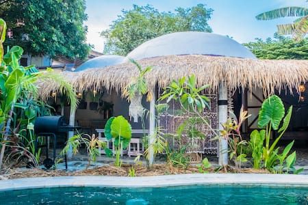Pachamama Organic Private Pool Villa w/ POOL FENCE