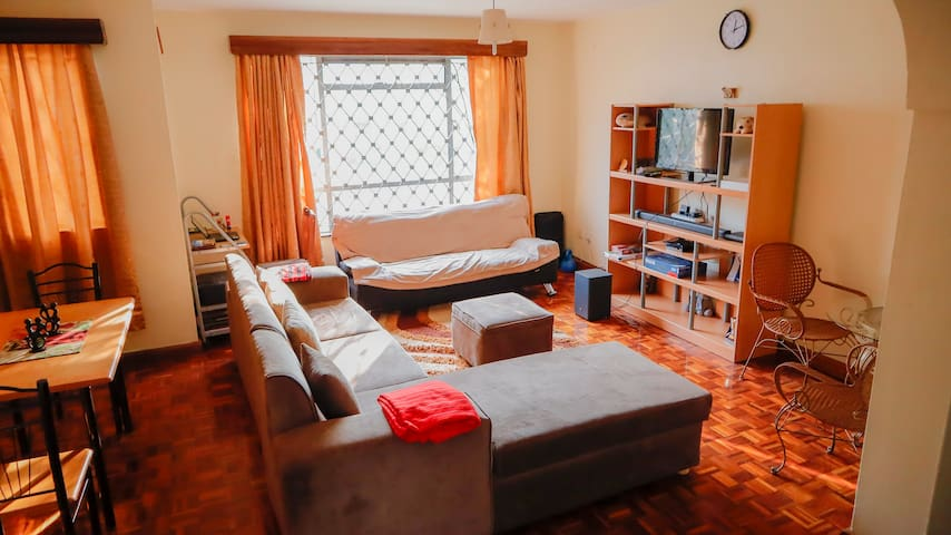 1 bedroom within 2 bedroom shared apt in Kilimani
