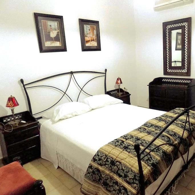 double bed 1st room