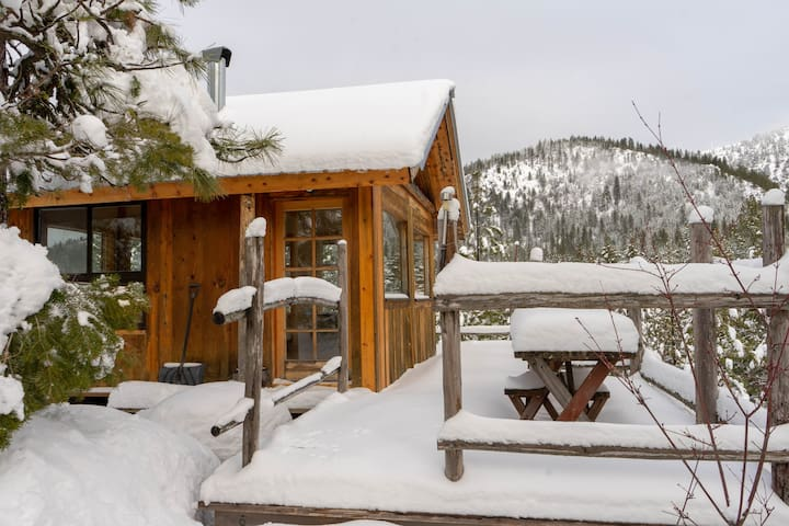 🏕Off-Grid@The Glass House A Tiny Cabin Venture