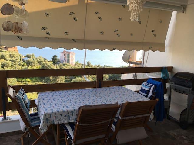Alloggio Stupendo piscina&spiaggia - Dhermi - Apartemen