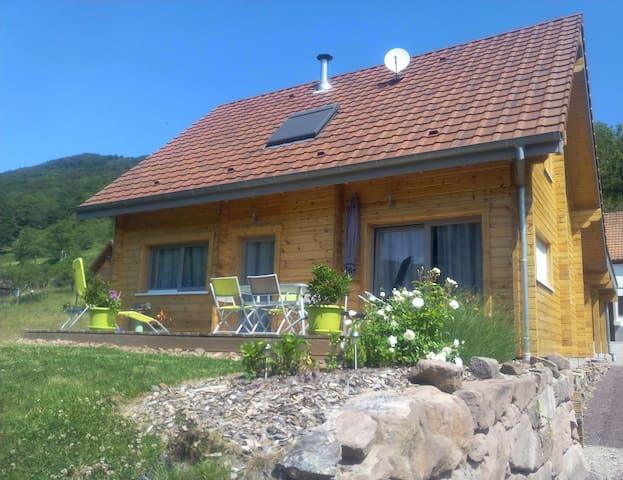 Chalet en bois classé 3* clevacance - Steige - Casa