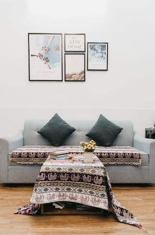 This is the living room/hallway area that you can chill out with your family and friends. You can use any equipment at the kitchen for free. However, you need to clean the kitchen after you use it. Thank you! There is a fee for using washer/dryer