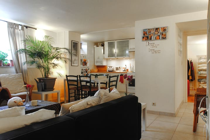 Cosy two bedroom apartment - Saint-Gilles - Condominium