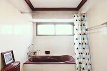 Bathroom inside Bedroom 01.