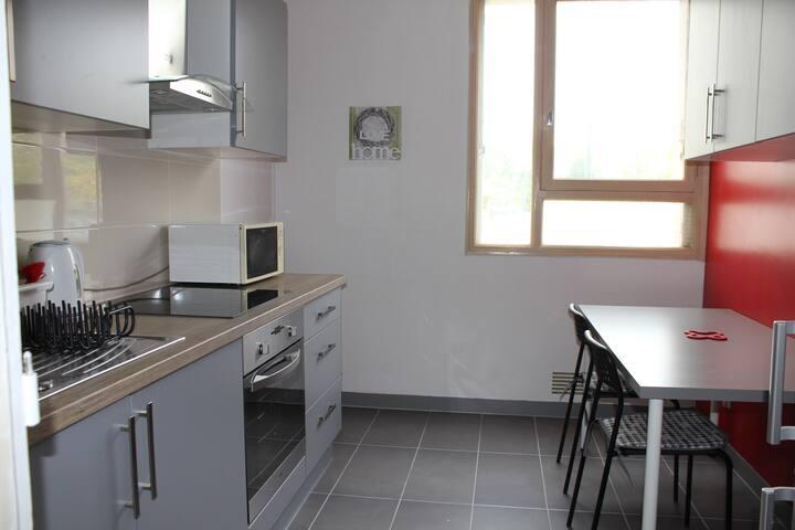 chambre dans un appartement partagé proche métro - Rennes - Wohnung