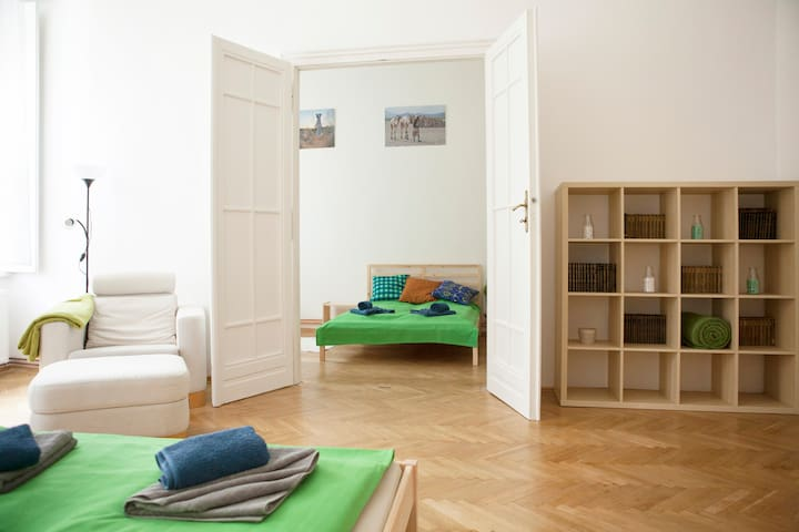 New bright & cosy apartment with two big bedrooms