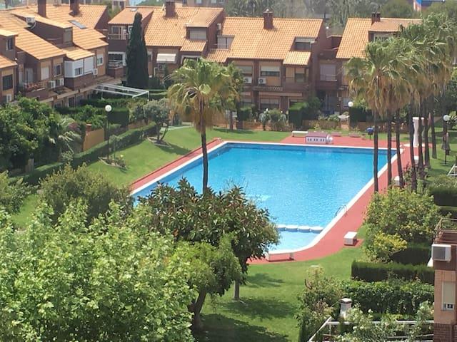 Apartamento familiar Playa San Juan-Cabo Huertas