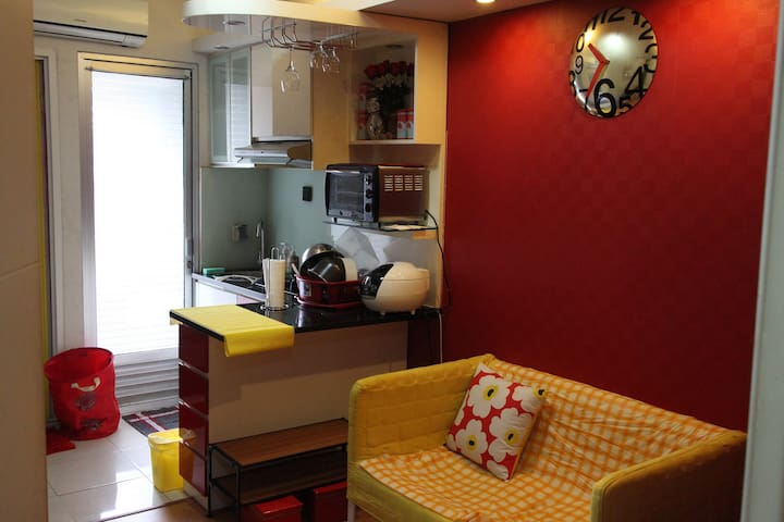 Fancy and Clean Apartment 2 Bedroom. Kalibata city - Pancoran - 公寓