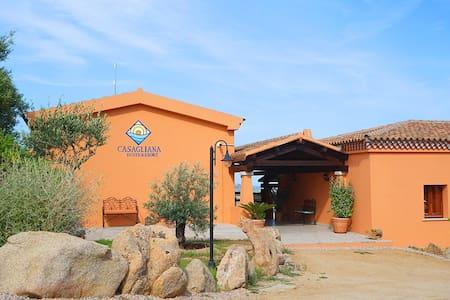 Deluxe suite resort a Casagliana