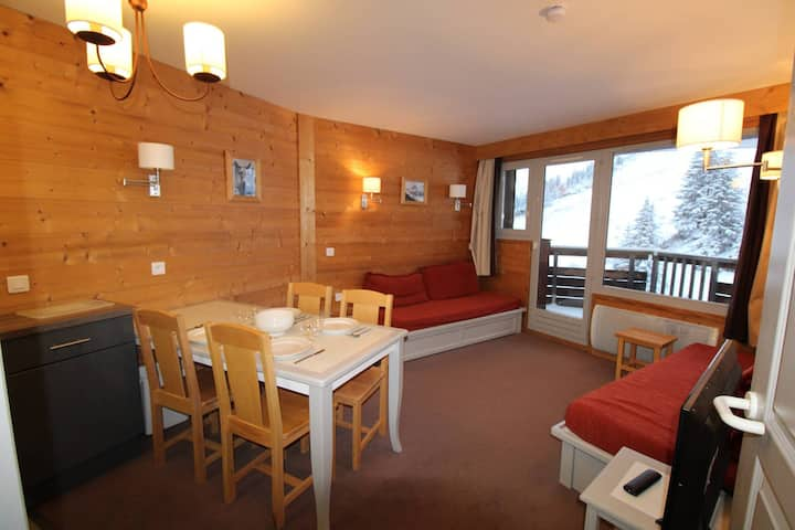 Lovely and confortable 3 rooms located on the slope