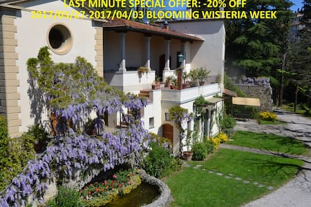 New house with garden, unique view - Firenze - Hus