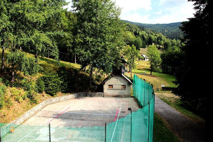 Horská chata Krosnov - Čtyřlůžkový pokoj