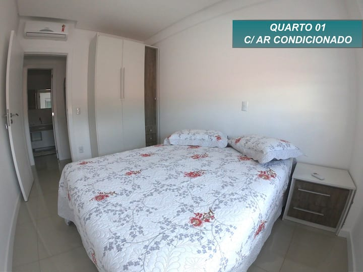 200 Metros do mar, Excelente apartamento!