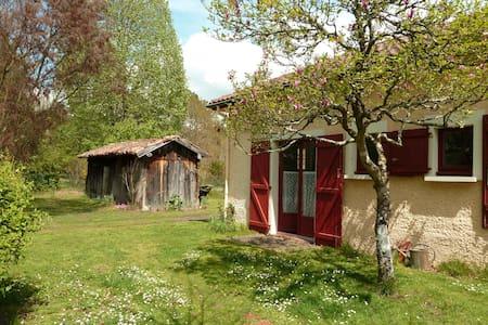 Dans maison, appt 50m2 et jardin à 10mn des plages - Lévignacq