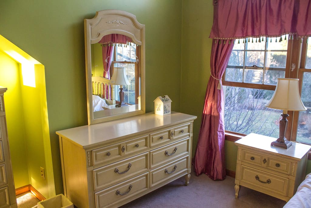Dressers and night table