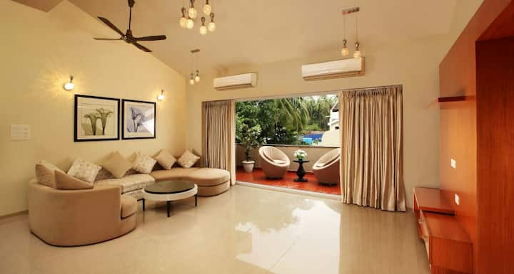 Luxurious 6 BHK Private Pool Villa near Baga Beach
